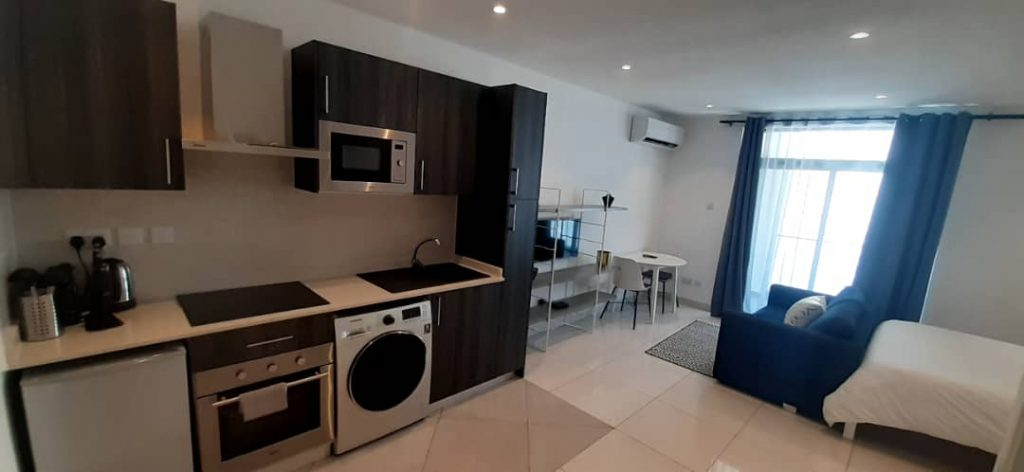 FURNISHED STUDIO APARTMENT FOR RENT AT CANTONMENT ACCRA- RYWARD PROPERTIES (1)